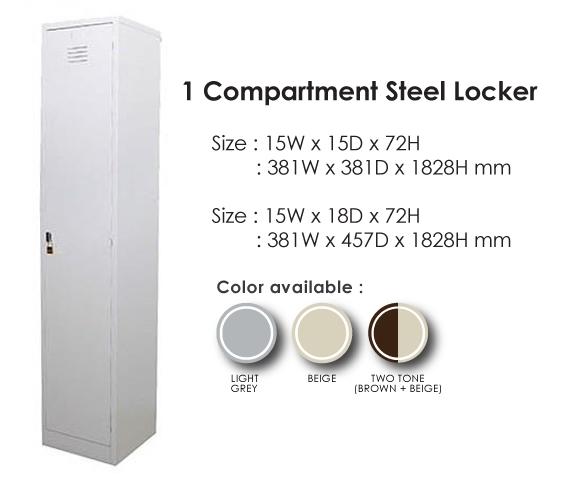 Steel Locker Century Time Management